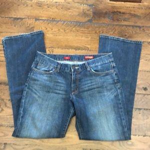 Express Eva bootleg dark wash jeans size 10R